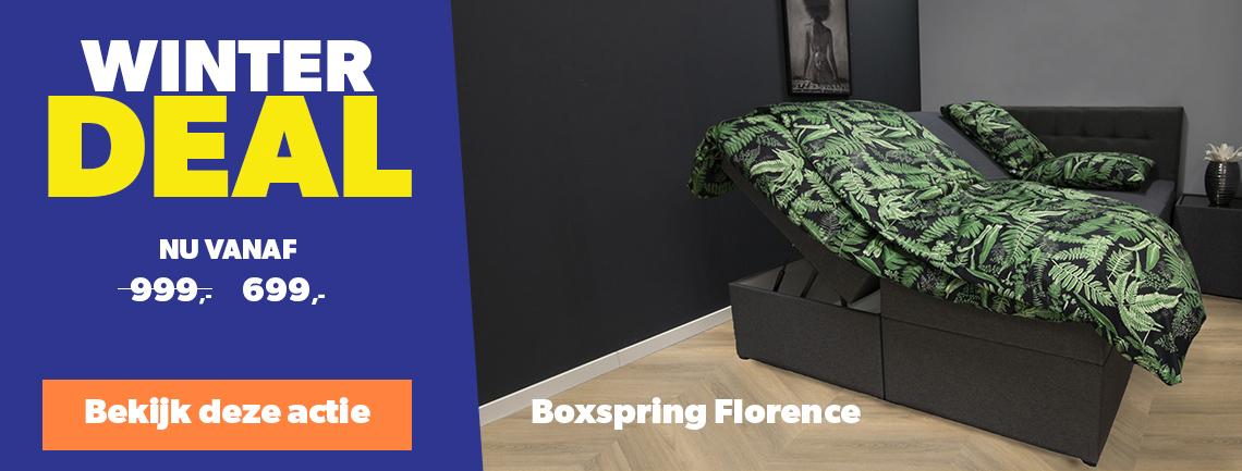 Boxspring Florence aanbieding