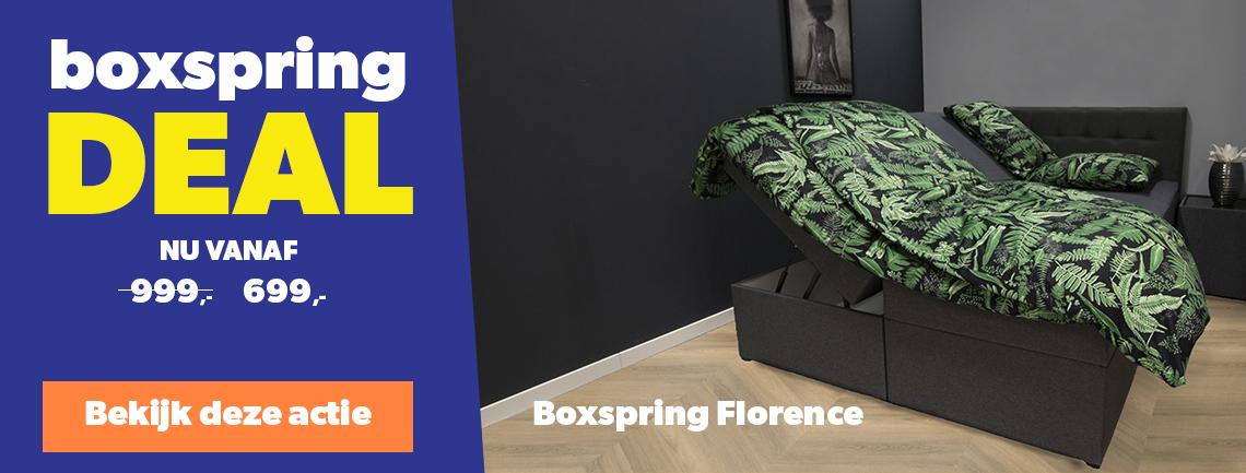 Opbergboxspring Florence
