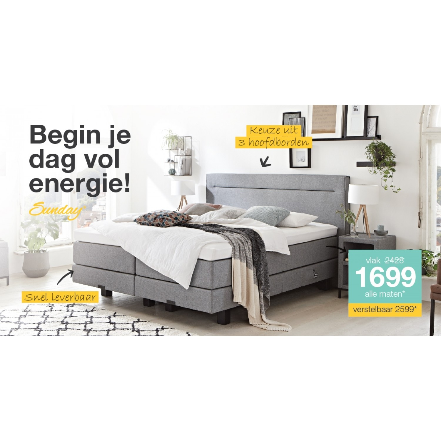 Boxspring Sunday 1200