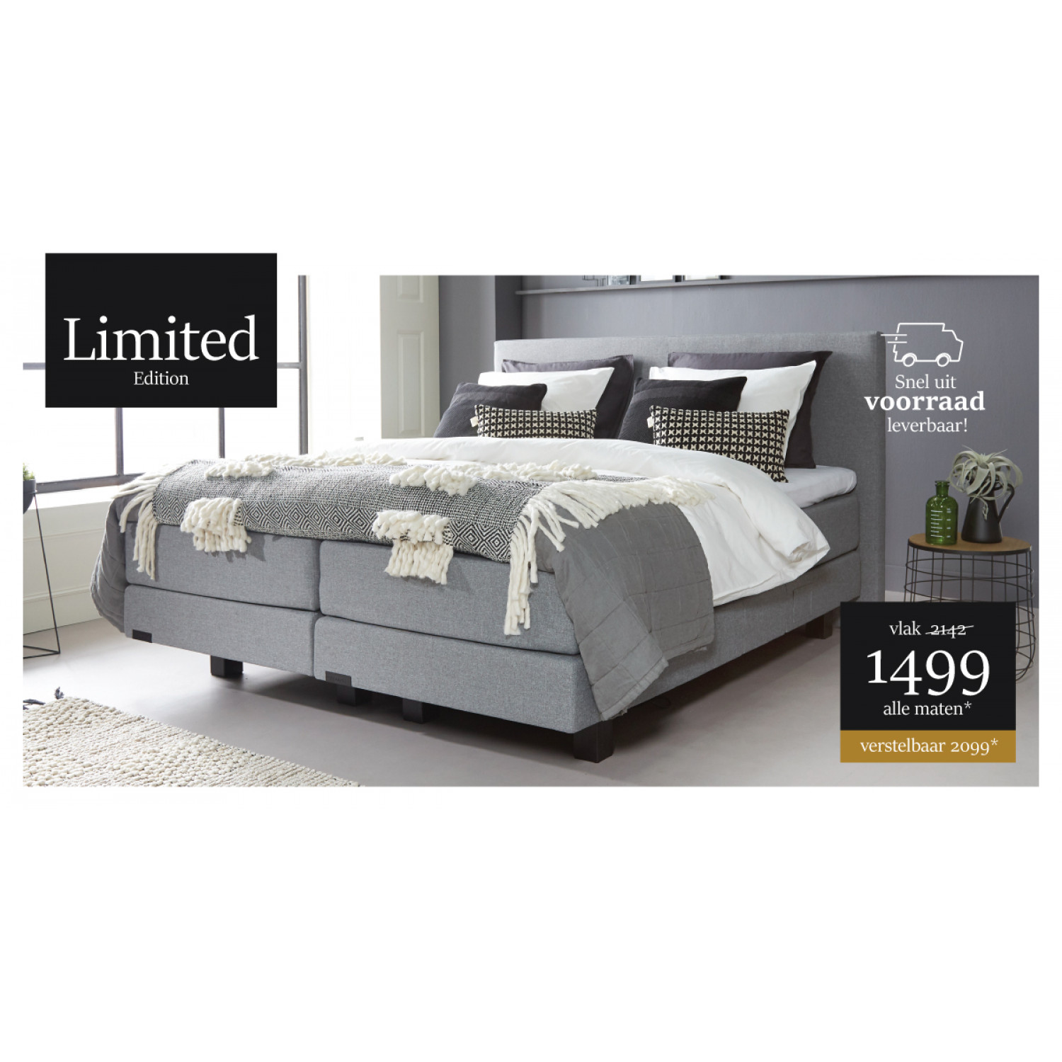 Limited Edition Boxspring
