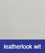 Leatherlook wit