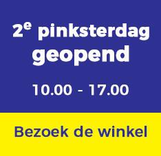 2e pinksterdag open