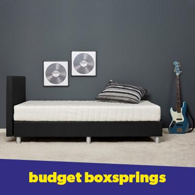 Budget boxsprings in termijnen